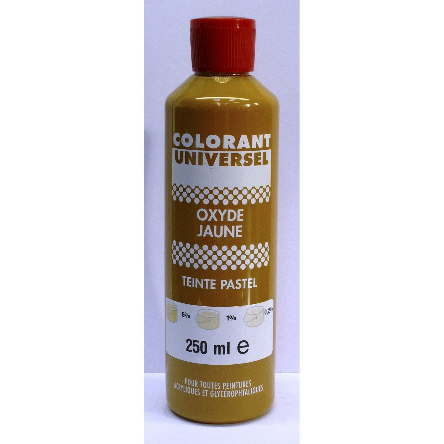 colorant universel oxyde jaune 250 ml - Colorant Peinture
