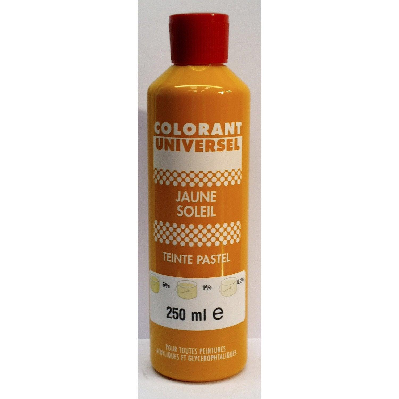 colorant universel jaune soleil 250 ml - Colorants Universels Pour Peinture
