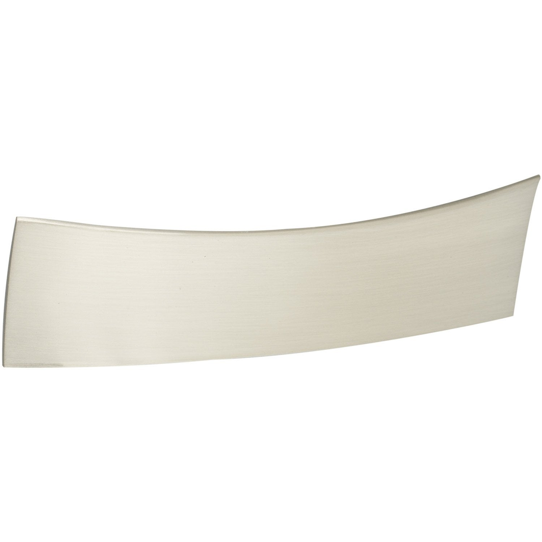 Poign e de meuble zamak bross entraxe 96 mm leroy merlin - Brosse metallique leroy merlin ...
