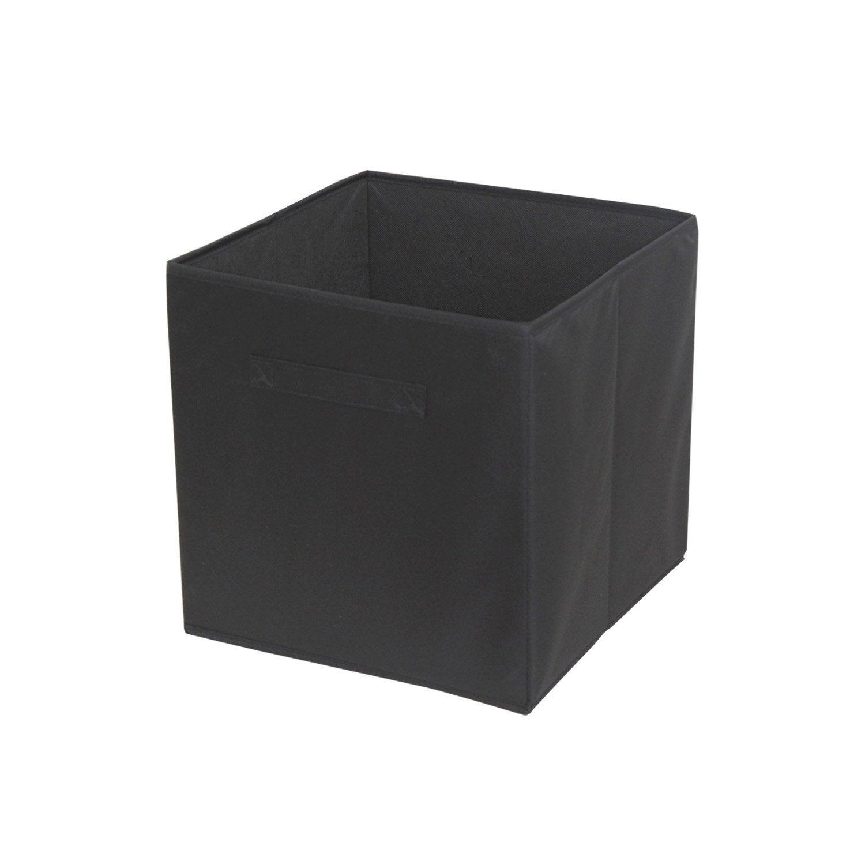 boite rangement noir. Black Bedroom Furniture Sets. Home Design Ideas