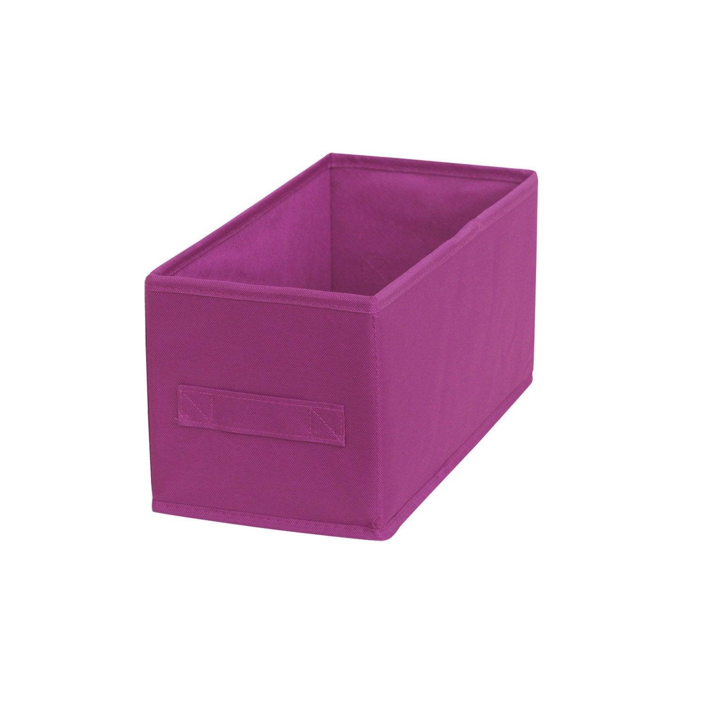 panier de rangement multikaz rose clair x x cm leroy merlin. Black Bedroom Furniture Sets. Home Design Ideas