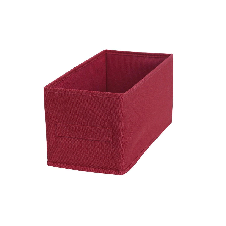 panier de rangement multikaz rouge x x cm leroy merlin. Black Bedroom Furniture Sets. Home Design Ideas