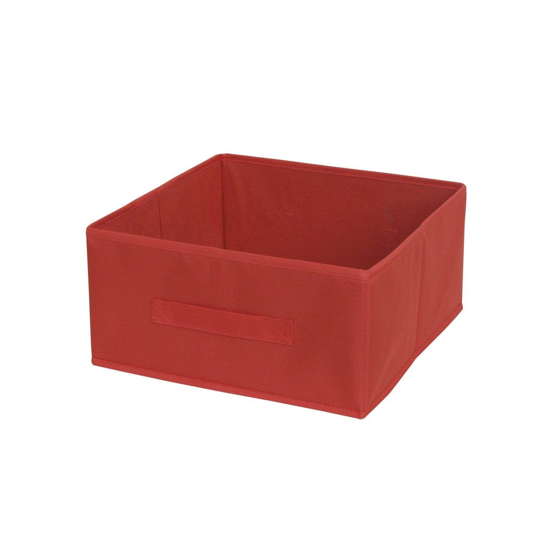 Panier de rangement multikaz rouge x x cm - Panier rangement leroy merlin ...