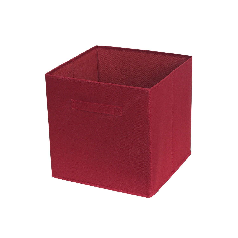 panier de rangement deco rouge