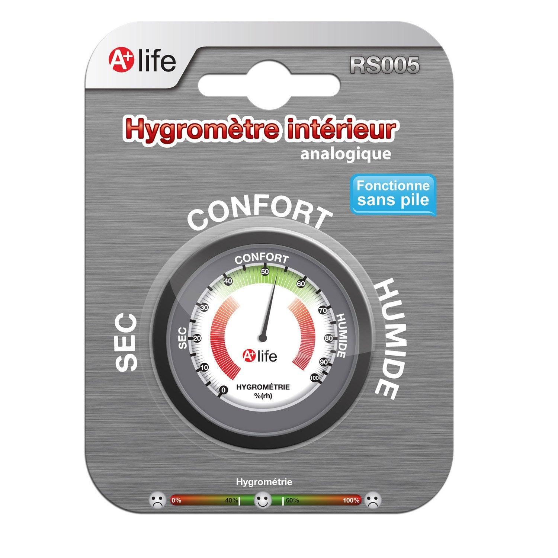 Hygrom tre analogique int rieur la crosse technology - Hygrometre leroy merlin ...