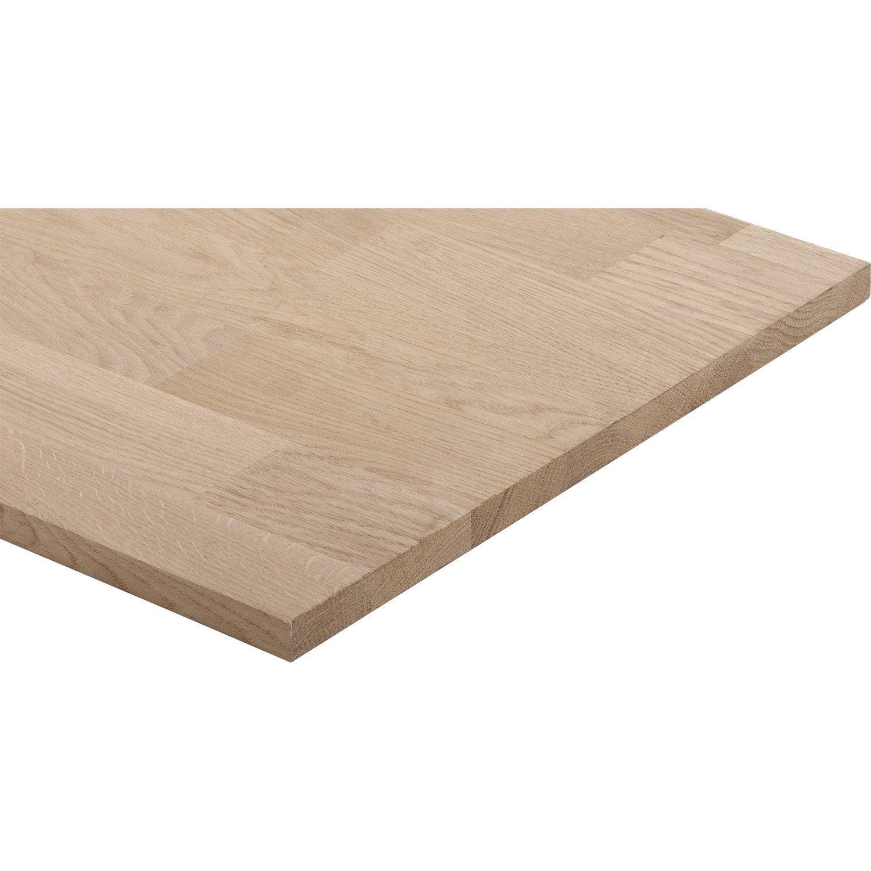 tablette ch ne lamell coll basic x p 1. Black Bedroom Furniture Sets. Home Design Ideas
