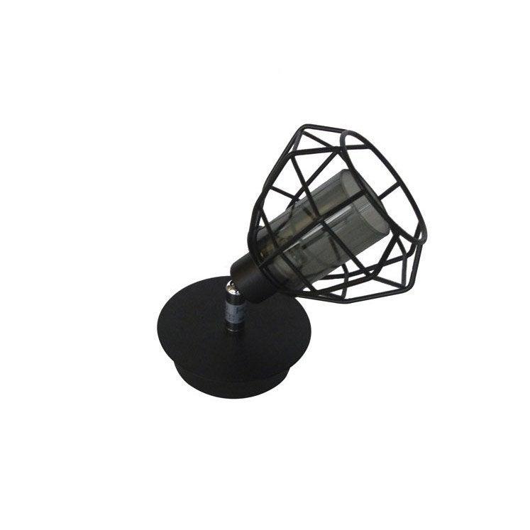 spot pat re sans ampoule 1 x g9 noir nerio inspire leroy merlin. Black Bedroom Furniture Sets. Home Design Ideas