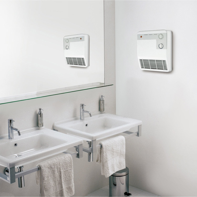 Radiateur soufflant salle de bain fixe lectrique aurora - Purger radiateur salle de bain ...