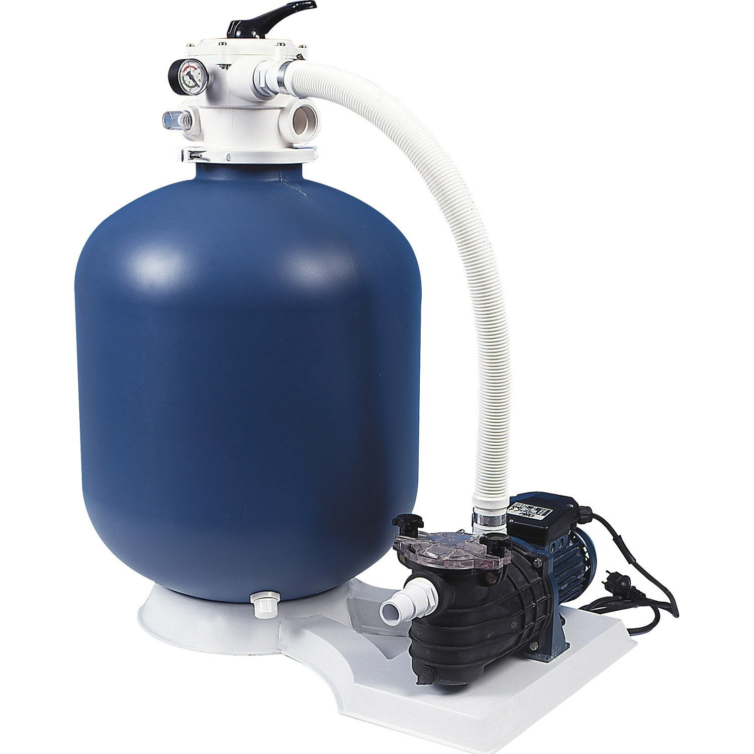 Pompe a sable avec leroy merlin brico depot for Kit filtration piscine