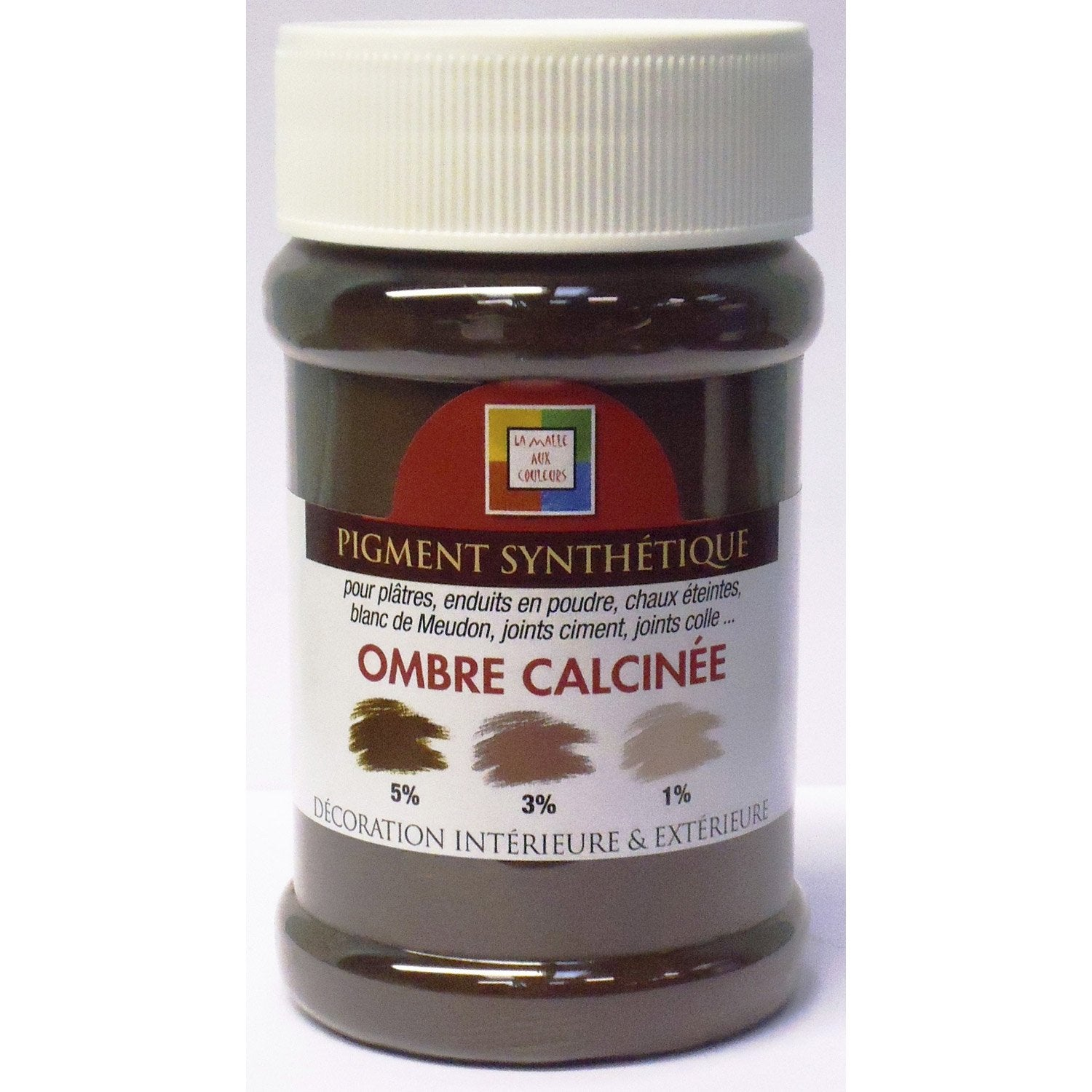 pigment 7 malle coul 250ml ombre calcine leroy merlin. Black Bedroom Furniture Sets. Home Design Ideas