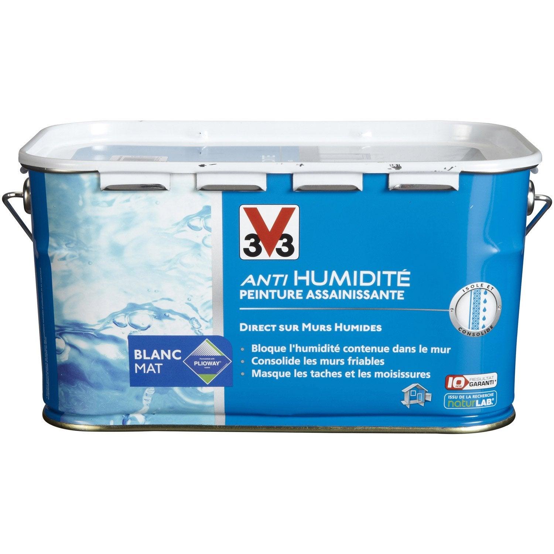 Peinture antihumidit v33 blanc 2 5 l leroy merlin - Bassins om leroy merlin te zetten ...