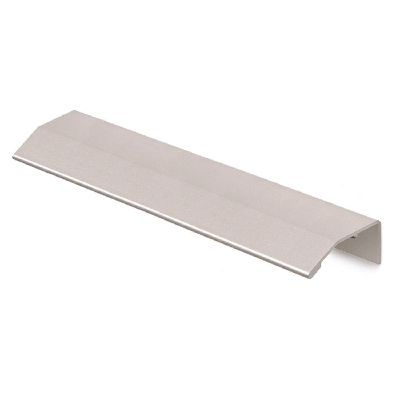 Poign e de meuble dsp aluminium anodis entraxe 640 mm for Leroy merlin poignee de meuble