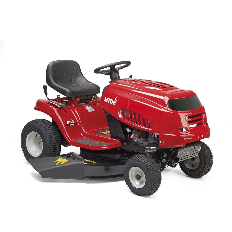tracteur de pelouse ejection laterale mtd smart rf 115. Black Bedroom Furniture Sets. Home Design Ideas
