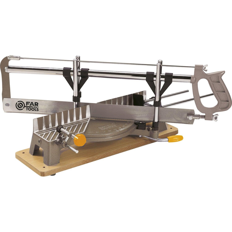 scie onglet manuelle fartools 550 mm leroy merlin. Black Bedroom Furniture Sets. Home Design Ideas