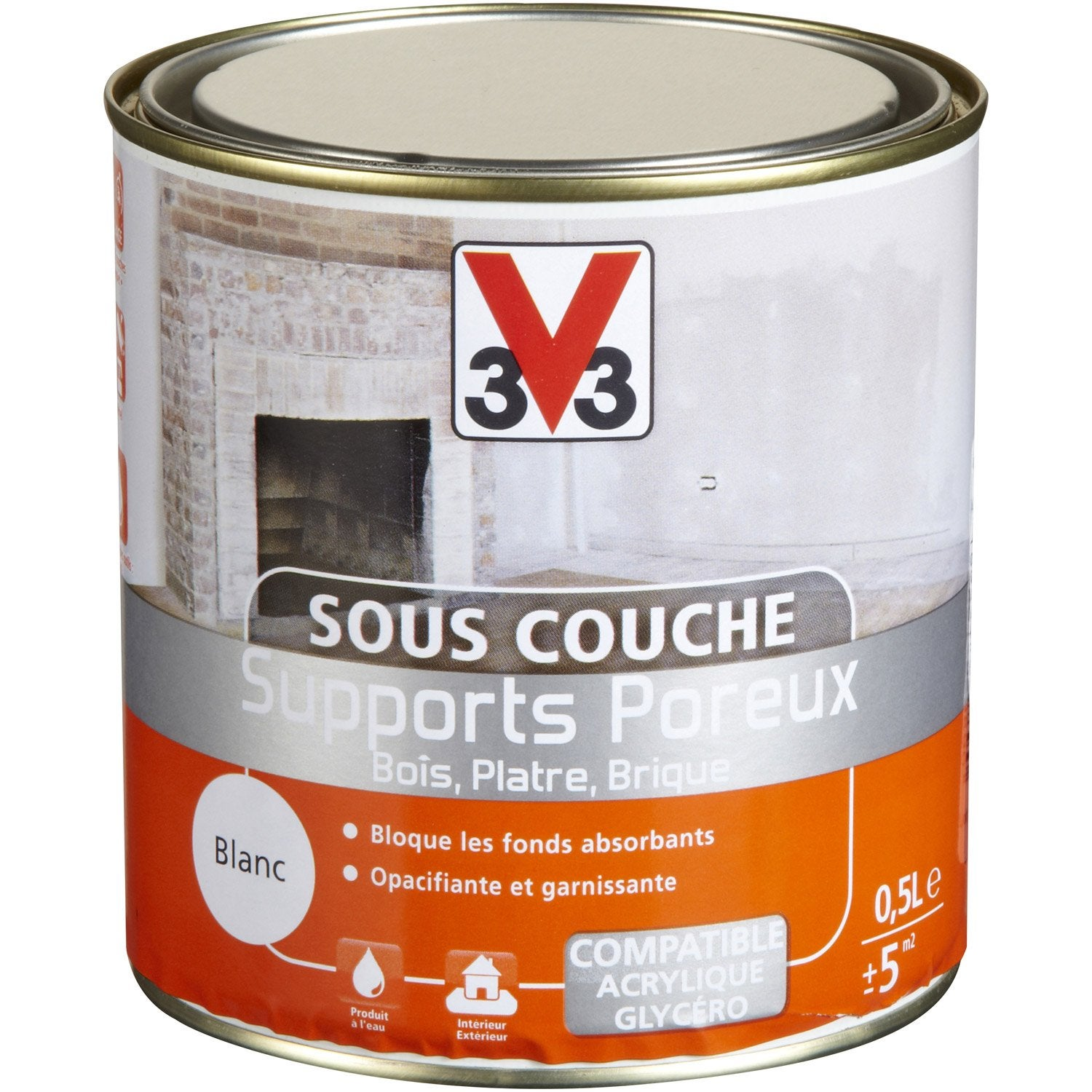 sous couche supports poreux v33 0 5 l leroy merlin. Black Bedroom Furniture Sets. Home Design Ideas