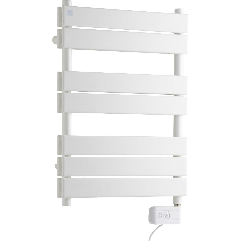 s che serviettes lectrique inertie fluide deltacalor fly double 500 w leroy merlin. Black Bedroom Furniture Sets. Home Design Ideas