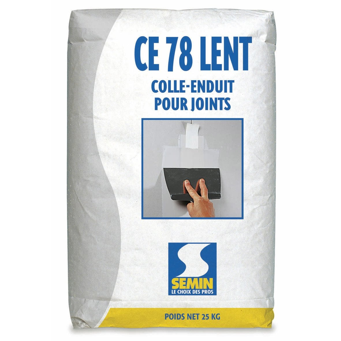 Enduit pour joint de plaque de pl tre ce 78 lent semin 25 for Enduit pour joint plaque de platre