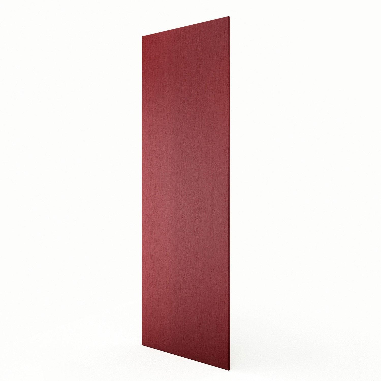 Joue colonne de cuisine rouge rubis l65 x h200 cm leroy merlin - Colonne cuisine leroy merlin ...