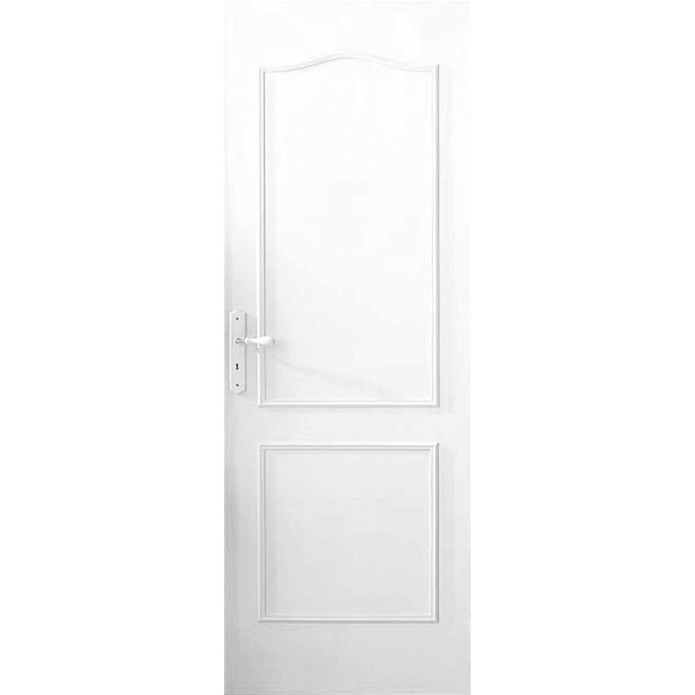 D cor de porte de 2 panneaux chapeau de gendarme vernir bois exotique leroy merlin - Decor de portes interieures ...