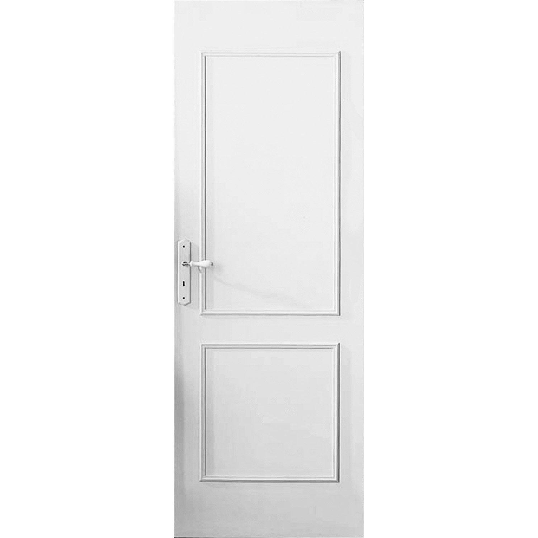 D cor de porte de 2 panneaux traverse droite vernir bois exotique leroy - Panneaux mdf leroy merlin ...