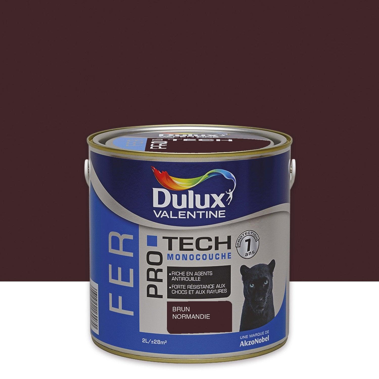peinture fer ext 233 rieur protech dulux mill 233 sime 2 l leroy merlin