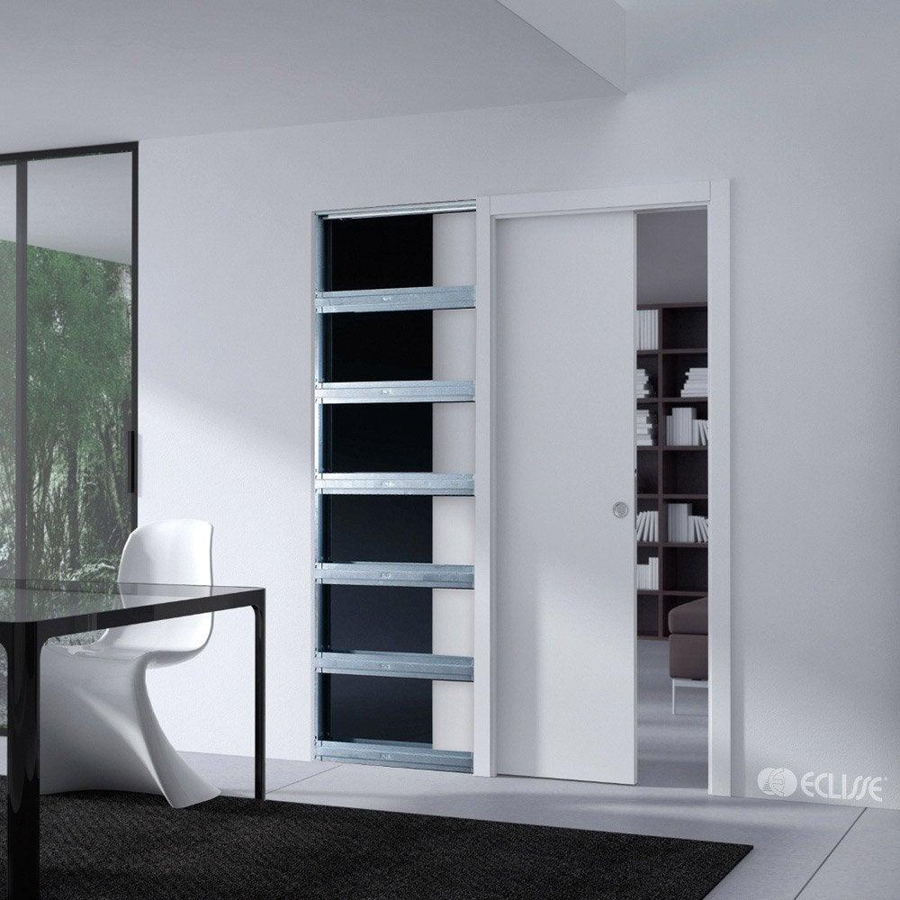 Syst me galandage unique 100 eclisse pour porte de largeur 83 cm leroy merlin - Coupe de verre leroy merlin ...