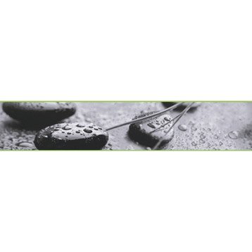 Frise vinyle adh sive galets zen longueur 5 m leroy merlin - Leroy merlin frise adhesive ...