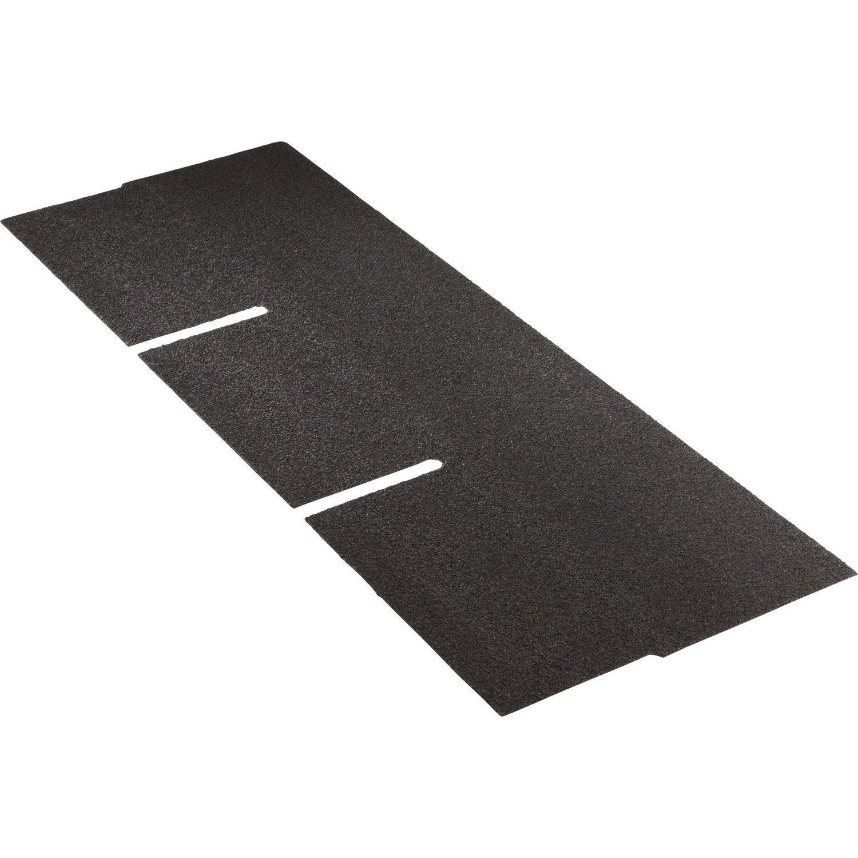 bardeau noir top shingle x 1m leroy merlin. Black Bedroom Furniture Sets. Home Design Ideas