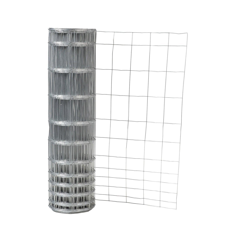 grillage pour animaux soud arizona galva gris h 1 4 x m maille x l leroy merlin. Black Bedroom Furniture Sets. Home Design Ideas