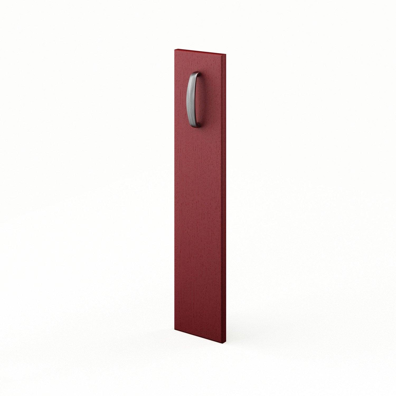 Cuisine Vintage Blanche Kidkraft 53208 : Porte de cuisine rouge F15 Rubis, L15 X H70 cm  Leroy Merlin