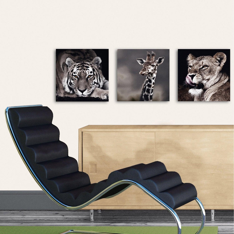 verre imprim tigra negra deco glass x cm leroy merlin. Black Bedroom Furniture Sets. Home Design Ideas