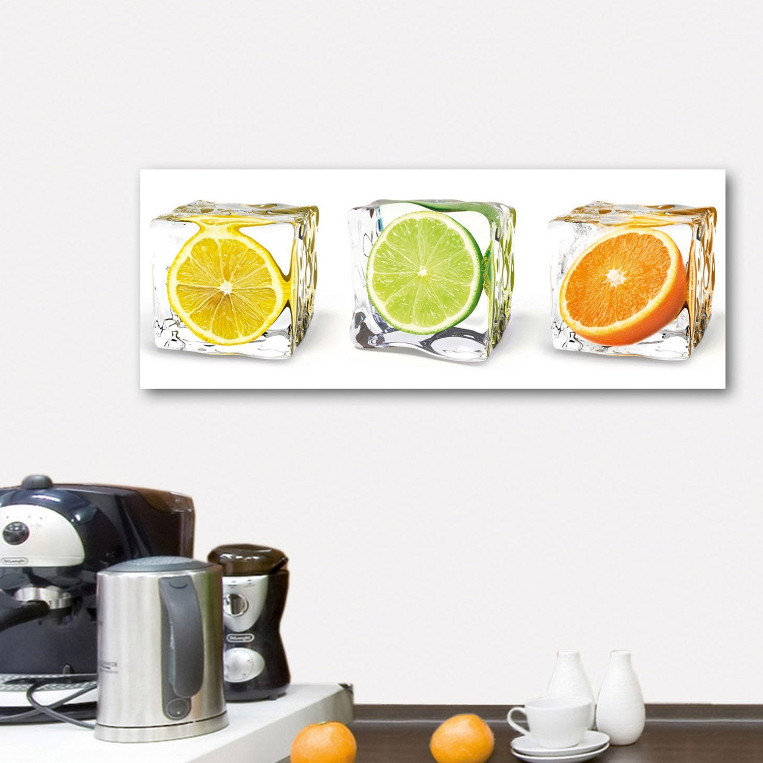 Verre imprim fruits in cubes deco glass x cm leroy merlin - Leroy merlin tableau deco ...