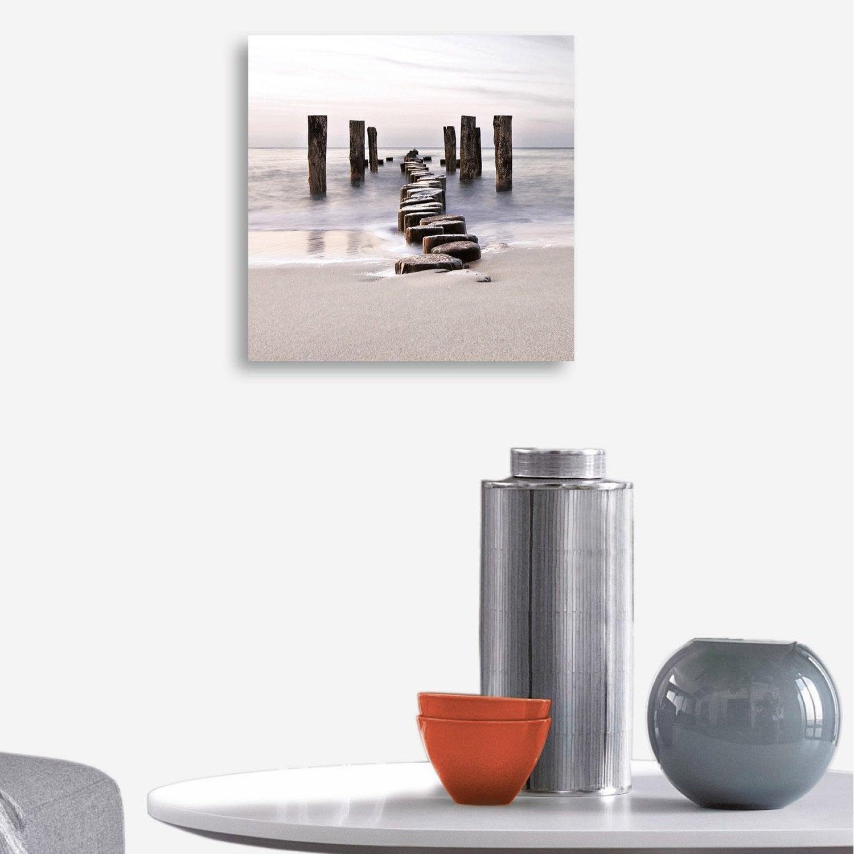 verre imprim path to silky sky deco glass x cm leroy merlin. Black Bedroom Furniture Sets. Home Design Ideas