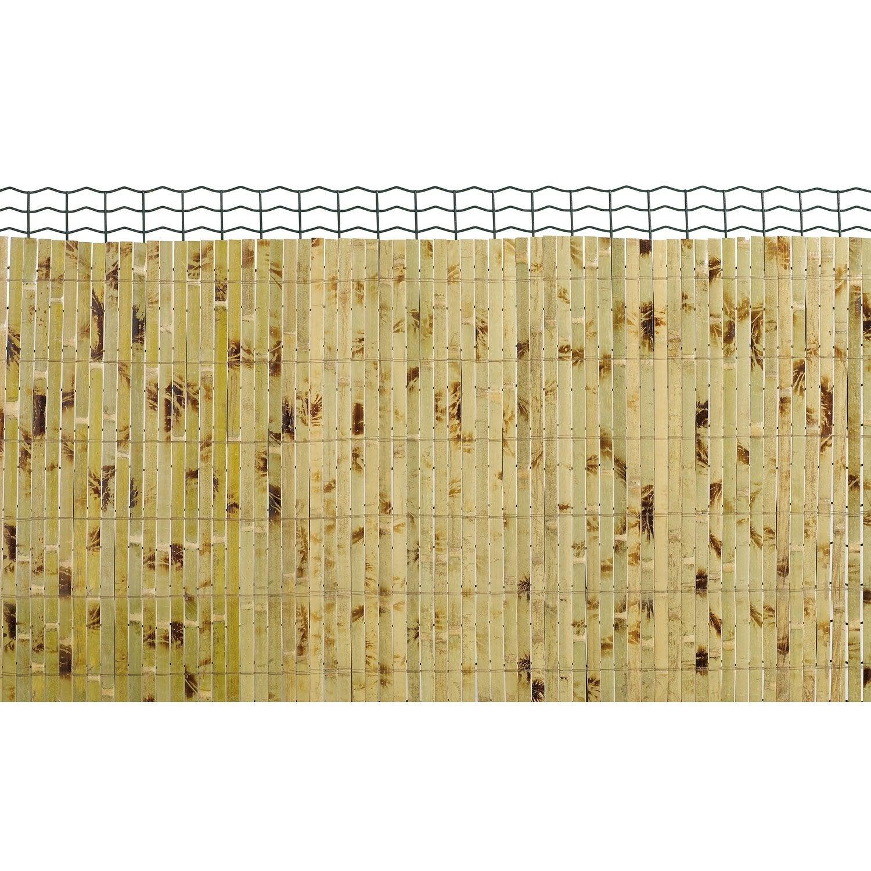 Canisse bambou nortene yangtse x cm leroy merlin - Canisse bambou castorama ...