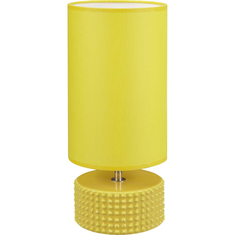Lampe katus coton jaune 60 w leroy merlin - Lampe baladeuse leroy merlin ...