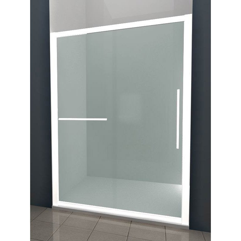 porte de douche coulissante breuer palerme verre de s curit transparent leroy merlin. Black Bedroom Furniture Sets. Home Design Ideas