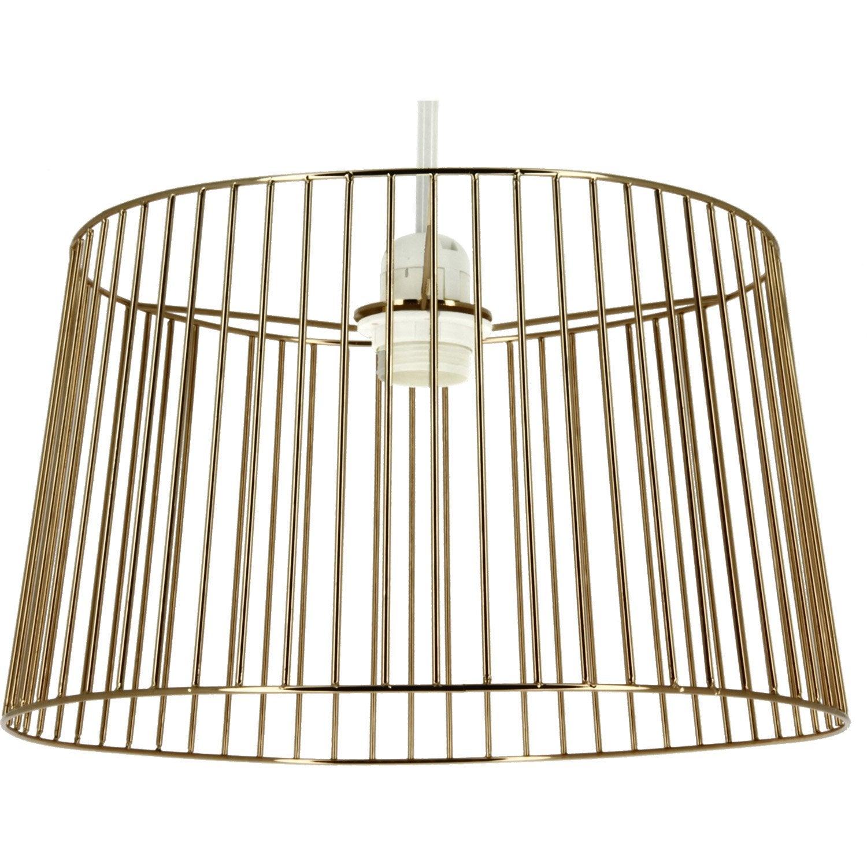 suspension design luca m tal cuivre 1 x 60 w metropolight leroy merlin. Black Bedroom Furniture Sets. Home Design Ideas