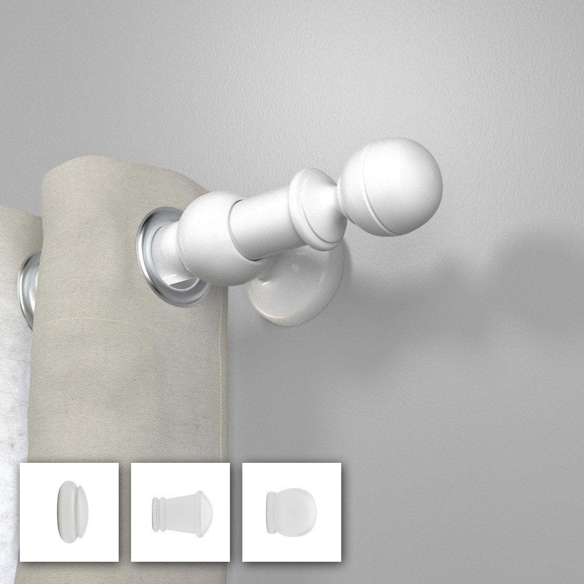 tringle rideau sans percer leroy merlin fabulous cable acier rideau leroy merlin tringle rideau. Black Bedroom Furniture Sets. Home Design Ideas