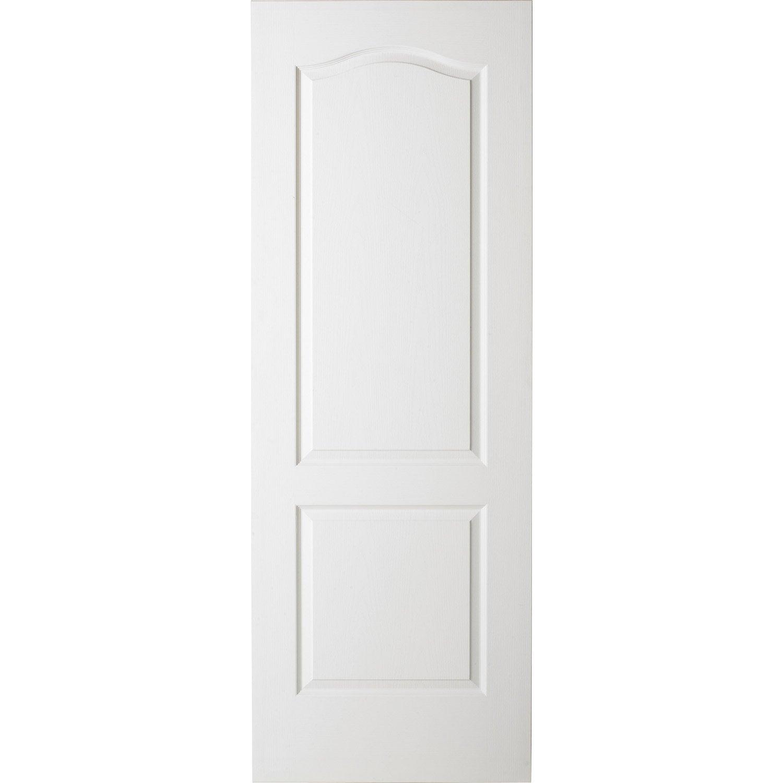Porte coulissante postform e x cm leroy merlin - Porte 63 cm lapeyre ...