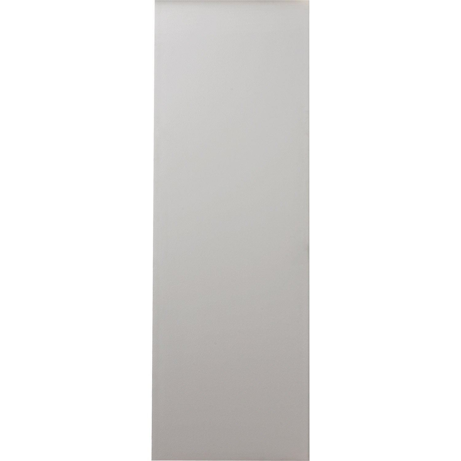 Porte coulissante sapin blanc 204 x 63 cm leroy merlin for Porte coulissante 63