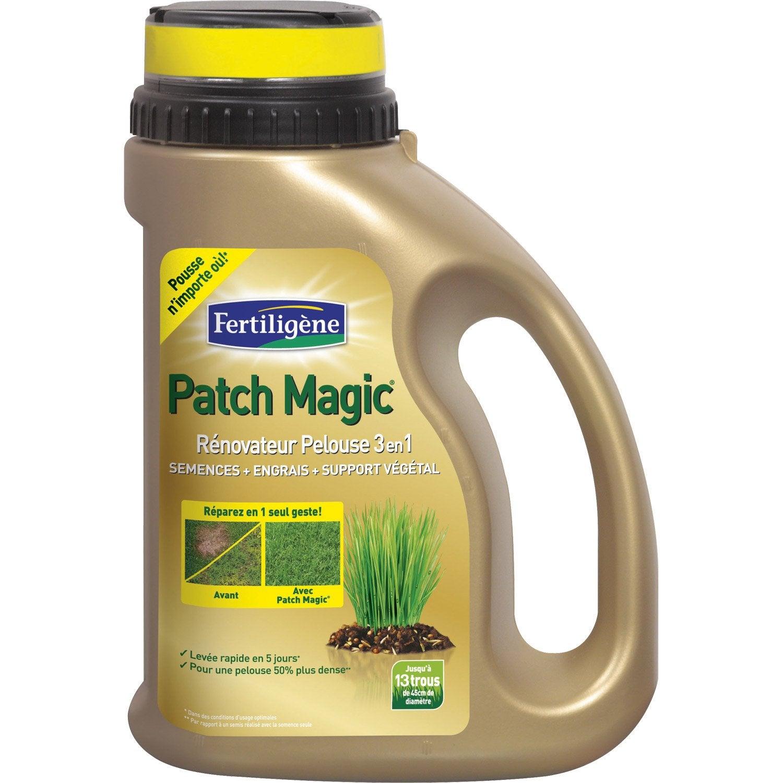 pelouse regarnissage fertiligene patch magic leroy merlin. Black Bedroom Furniture Sets. Home Design Ideas