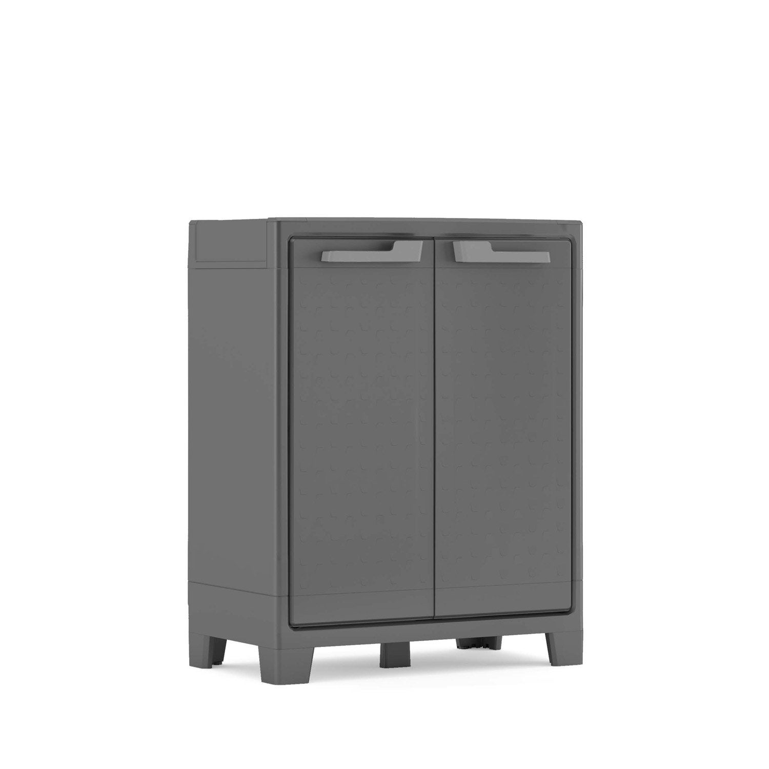 armoire de jardin r sine titan anthracite x x cm leroy merlin. Black Bedroom Furniture Sets. Home Design Ideas