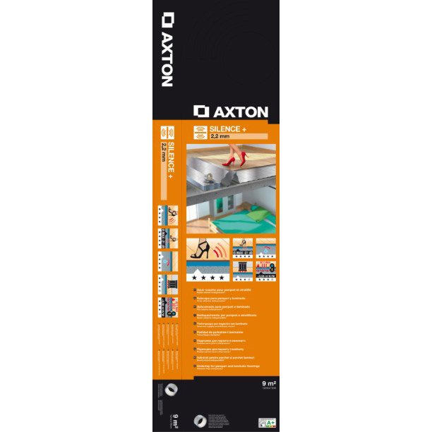 sous couche parquet et sol stratifi silence ep 2 2 mm axton 9 m leroy merlin. Black Bedroom Furniture Sets. Home Design Ideas