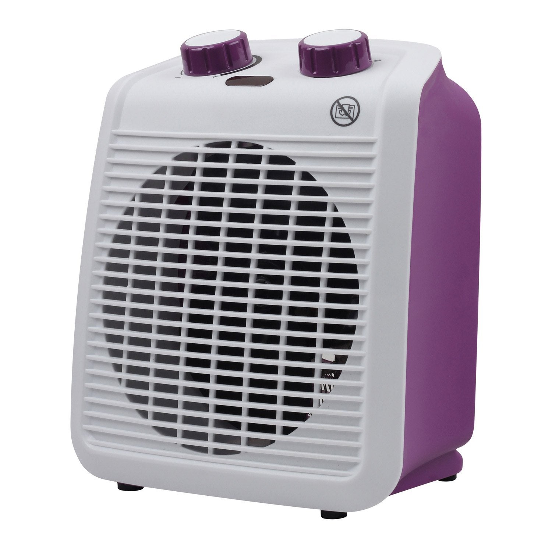 radiateur soufflant salle de bain mobile lectrique violet equation five 2000 w leroy merlin. Black Bedroom Furniture Sets. Home Design Ideas
