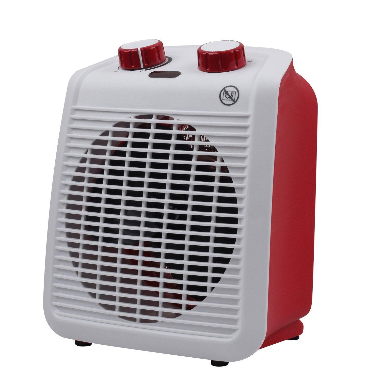radiateur soufflant salle de bain mobile lectrique rouge equation five 2000 w leroy merlin. Black Bedroom Furniture Sets. Home Design Ideas