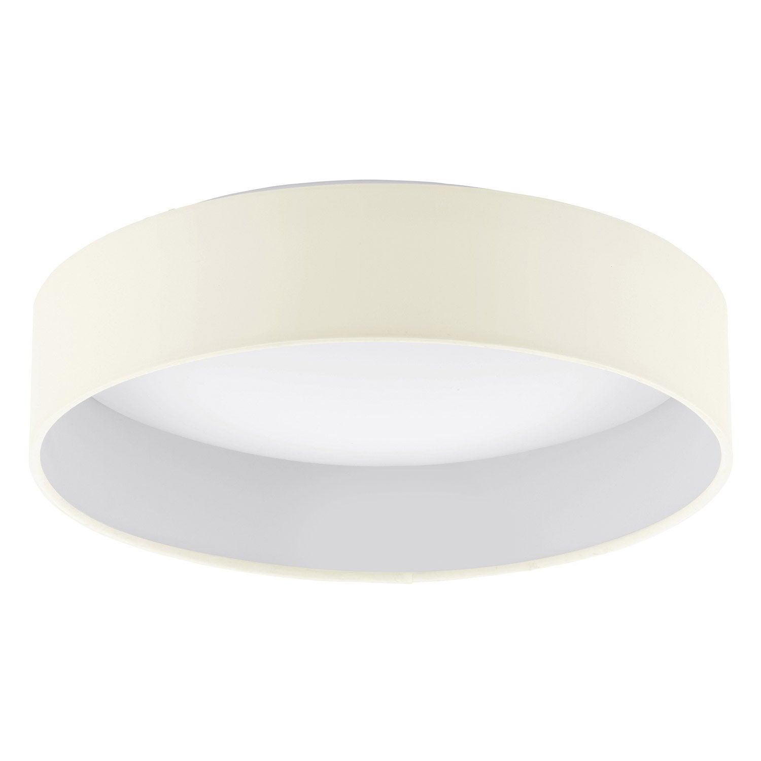 Plafonnier design led int gr e palomard plastique beige 1 - Plafonnier design led ...