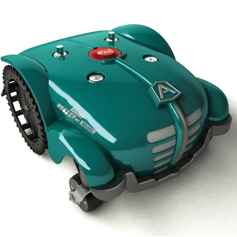 tondeuse robot connect e ambrogio l200r 3000 m leroy merlin. Black Bedroom Furniture Sets. Home Design Ideas
