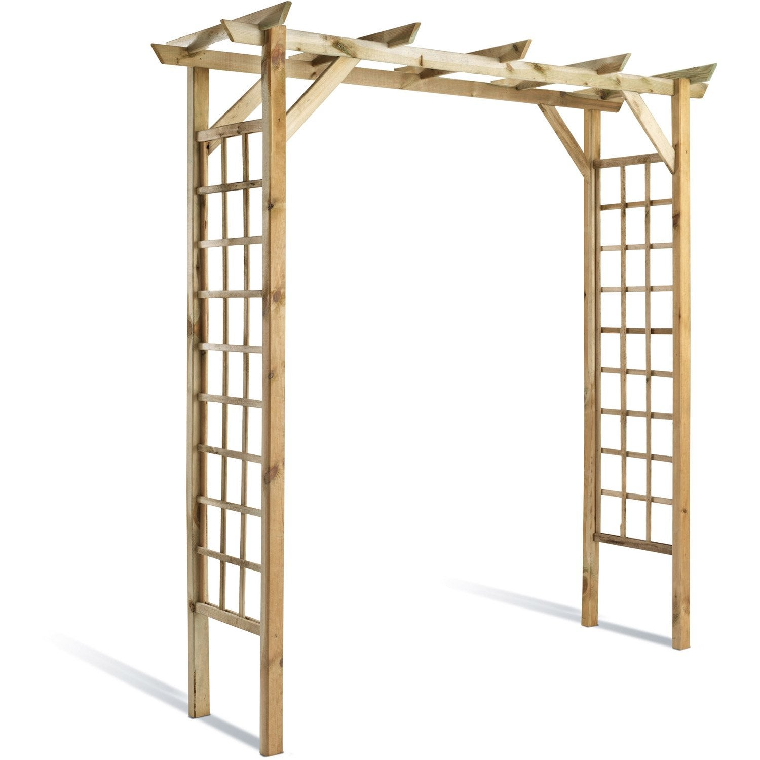 Garage pergola design penmie bee - Garage bois en kit leroy merlin ...